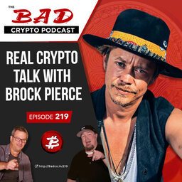 Real Crypto Talk with Brock Pierce