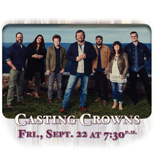 Spotlight great frederick fair casting crowns wfmd am for Frederick county fairgrounds christmas craft show