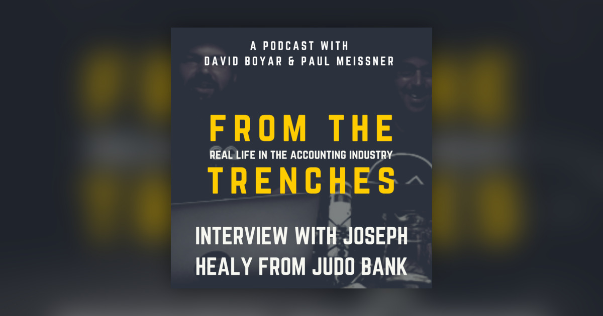 Interview: Joseph Healy, CEO at Judo Bank (Live from SOFY Party