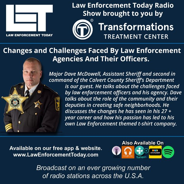 Major Dave McDowell, The Changes and Challenges Faced By Law