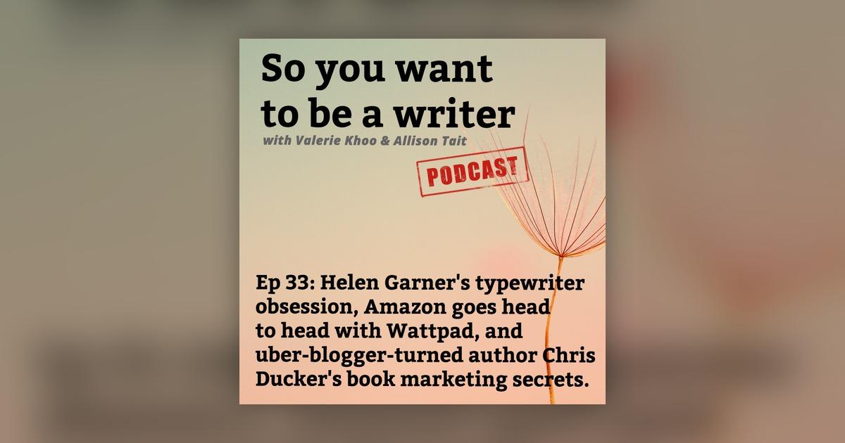 WRITER 033: Helen Garner's typewriter obsession, Amazon's