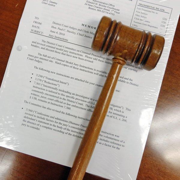 Mass Jury Instructions