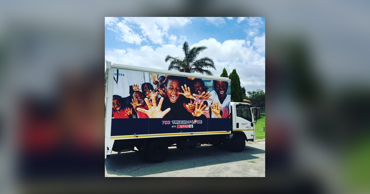 702 Truck of Love with Spar visits Kempton Park - The Best
